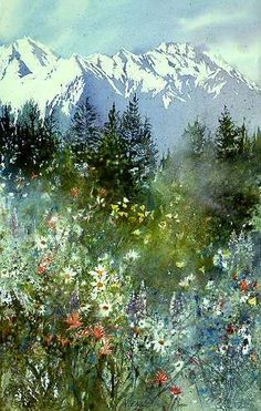 Nita Engle WATERCOLOR: