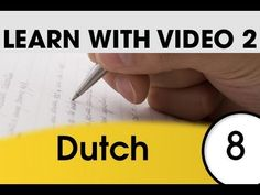 Learn Dutch with Pictures and Video - Dutch Expressions and Words for the Classroom 1 Learn Dutch, First Step, Picture Video, Classroom, Learning, Words, Youtube, Pictures, Class Room