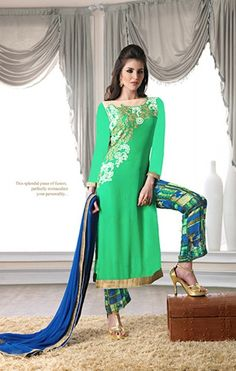 Salwar kameez is most preferred Indian clothing for girls and women across the India. It comes handy for any occasion. Daindiashop.com offers salwar kameez online for all important and casual occasion. The choice is available varying from being a casual salwar kameez, heavy embroidered salwar kameez, designer salwar kameez etc. depending upon the occasions - http://www.daindiashop.com/suits/salwar-kameez