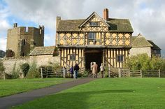 Stokesay Castle, South Shropshire, England