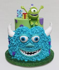 Monster Inc Cake  Violeta Glace