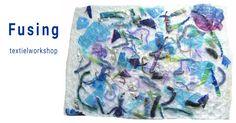 Textielworkshop Fusing: stoffen en weefsels van plastic