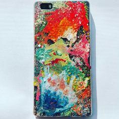 #splash #colours #handmade #painted #phonecase #splashcolours #accessorise