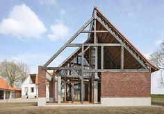 Dekonstruktion auf dem Bauernhof - Wohnhaus in Belgien von de vylder vinck taillieu