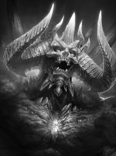 It's Terror Tuesday, and what better way to kick it of than with a devil.Fast Drawing - Diablo - Dmitriy Prozorov (tamplierpainter) at Deviantart.Prints are available here.