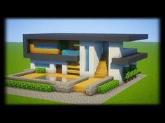 Magnificent Plan Maison Minecraft that you must know, You're in good company if you're looking for Plan Maison Minecraft Villa Minecraft, Minecraft Mods, Architecture Minecraft, Modern Minecraft Houses, Minecraft Houses Blueprints, Minecraft City, Minecraft House Designs, Minecraft Construction, Minecraft Creations