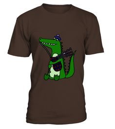 # Cool Funny Alligator Playing Bagpipes   Mens T Shirt .    COUPON CODE    Click here ( image ) to get COUPON CODE  for all products :      HOW TO ORDER:  1. Select the style and color you want:  2. Click Reserve it now  3. Select size and quantity  4. Enter shipping and billing information  5. Done! Simple as that!    TIPS: Buy 2 or more to save shipping cost!    This is printable if you purchase only one piece. so dont worry, you will get yours.                       *** You can pay the…