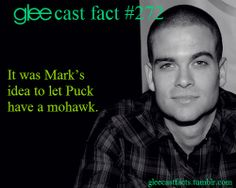 Ooh I knew that one Best Tv Shows, Best Shows Ever, Favorite Tv Shows, Glee Puck, Mark Salling, Glee Quotes, Glee Club, Chris Colfer, Pretty Little Liars