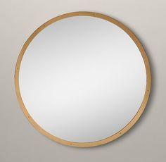 restoration hardware gold mirror - Google Search