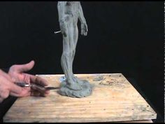 How To Sculpt In Clay #9 - How To Sculpt Feet