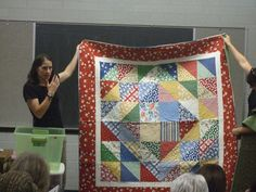Jina's World Of Quilting: August That Alpine Quilt Group