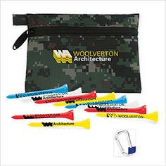 Norwood Good Value(R) Collection - Links Pouch with Tees. For details on how to order this item with your logo branded on it contact ww.fivetwentyfour.ca   #promoitems  #promoproducts   #golfpromo