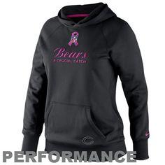Nike Chicago Bears Women's Fashion Jersey V-Neck Top - Navy Blue