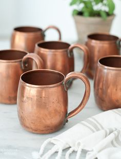 really want a small set of copper mugs, and i wouldn't be opposed to the shot…