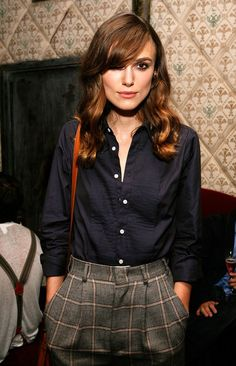 I love the ease of this outfit... and Keira Knightley's entire wardrobe