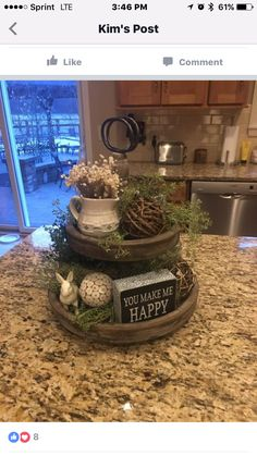 Cute countertop display