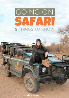 5 Things To Know Before Going on Safari on #StyleScoop  #Travel #Safari #Africa #Adventure
