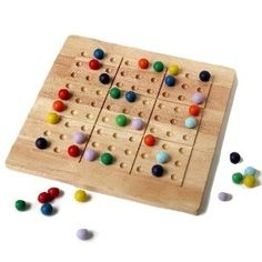 colorku game set (like sudoku with colored marbles instead of numbers) -- $30