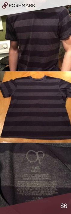Basic Striped Shirt Super basic, but comfy and essential shirt! #striped #stripes #men #boys #purple #shirt #tshirt OP Shirts Tees - Short Sleeve