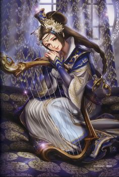 Cai Wenji desires to aid the emperor's trip. Description from koei.wikia.com. I searched for this on bing.com/images