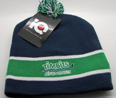Tim Hortons Timbits Minor Hockey Toque Tuque Beanie Knit Child Youth NEW NWT Hat