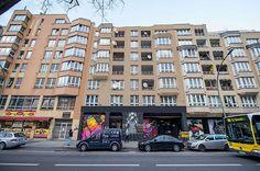 Spitzenleistung von NeSpoon  Die polnische Streetart-Künstlerin NeSpoon treibt es gerne auf die Spitze. Im Vergleich zu den meist sympathisch-grobschlächtigen Murals sehen ihr...