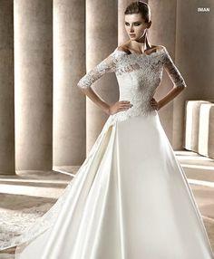 Ovias Lacey Wedding Dress Lace Bolero Bateau Bridal Dresses