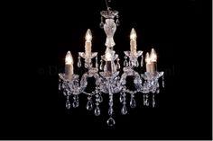 Kroonluchter 6+3 lichts chrome. Maria Theresa serie #chandelier #kroonluchters