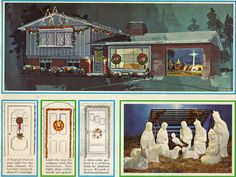 1965 Sears Christmas Catalog - Outdoor decorations