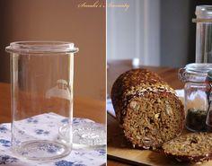smaki i aromaty: Ciemny chleb ze słoika