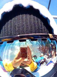 357b3a1e05b Snowboarding goggle reflection.  snowboarding  goggles  eyes  sun  winter   snow  ski  board