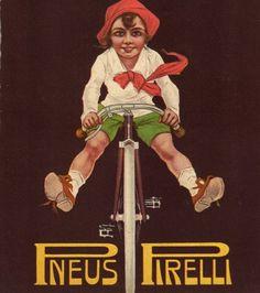 #pirelli vintage advertising
