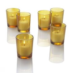 Set of 12 Colored Glass Votive Candle Holders, Amber by Eastland Glass, http://www.amazon.com/dp/B003NXAU74/ref=cm_sw_r_pi_dp_MnVkqb15T7S9P