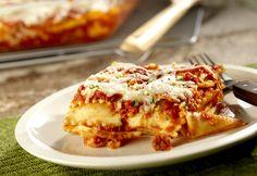 Shortcut ravioli lasagna