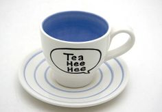 Funny Teacup and Saucer :)