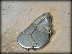 silver pendant modern jewelry Christmas gift by GENEZAjewelryART, $89.90