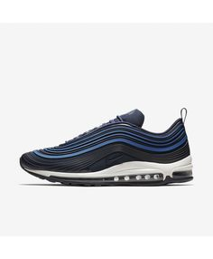 premium selection 90750 a67a4 Nike Air Max 97 Ultra17 Premium Navy Obsidian Trainers Mens Trainers, Nike  Trainers