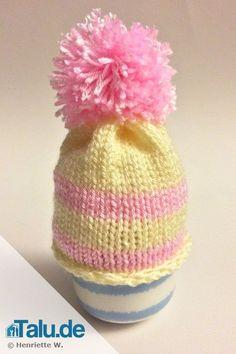 Eierwärmer: Mütze stricken