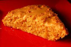 Maple pecan scone with maple glaze by Eve Fox