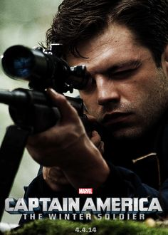 The Winter Soldier - YES!!!!!  BUCKY!!!!!...its the same guy that plays mad hatter in once upon a time yeah!!!!