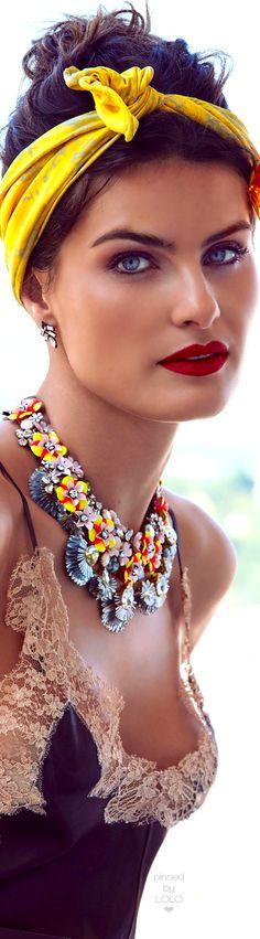 Isabeli Fontana for Madame Figaro | LOLO❤︎