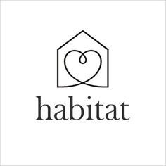 Habitat Home Furnishings Store: clever twist on 'home is where the heart is'.