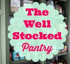 The Well Stocked Pantry (aka I May Be Hoarding Chicken Stock) (via Bloglovin.com )