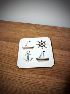 Travellers coaster, sailing gifts, coasters,   #coasters #giftideas #sailing #boats #giftsforhim