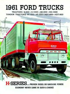 Ford H Series Tractor Semi