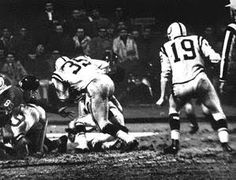 Alan Ameche scores to end sudden death overtime! (1958 NFL Championship)