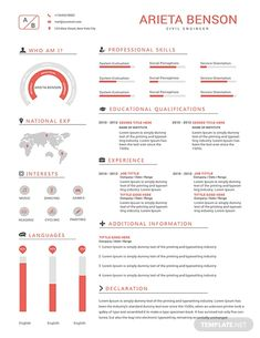 Free Professional Civil Engineer Resume Template ---CLICK IMAGE FOR MORE--- resume how to write a resume resume tips resume examples for student Resume Design Template, Cv Template, Resume Templates, Resume Software, Job Resume Examples, Resume Tips, Hr Resume, Resume Format, Resume Summary