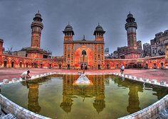 Wazir Khan's Mosque in Pakistan
