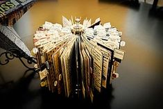 The fabulous Sande Krieger made this absolutely stunning recipe holder for CHA in July.  We were stunned by the sheer amount of cards as wel...