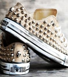Studded Converse Shoes (without the skulls, please)